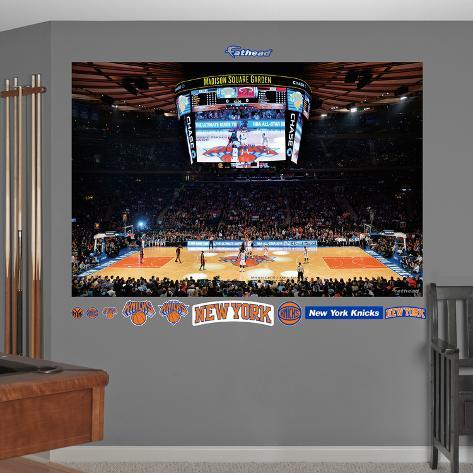 New york knicks arena mural wall mural for Poster mural geant new york