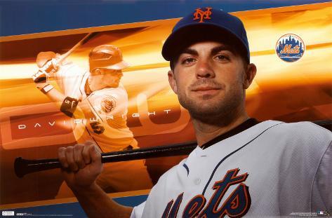 New York Mets - David Wright Poster