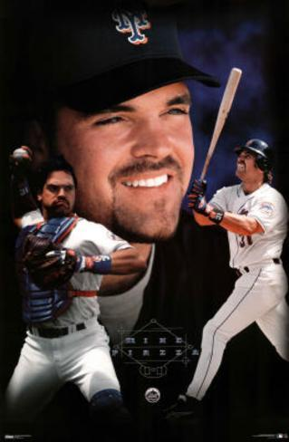 New York Mets Mike Piazza Poster