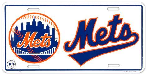 New York Mets Tin Sign
