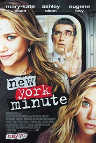 New York Minute Original Poster
