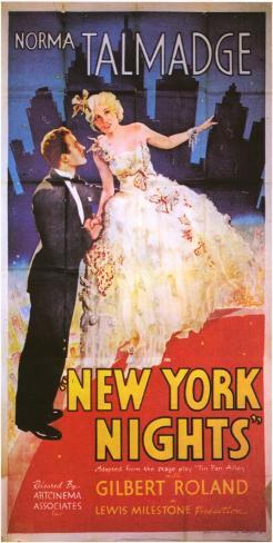 New York Nights Masterprint