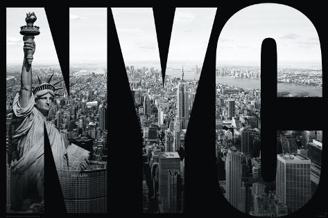 New York-NYC Mural Poster