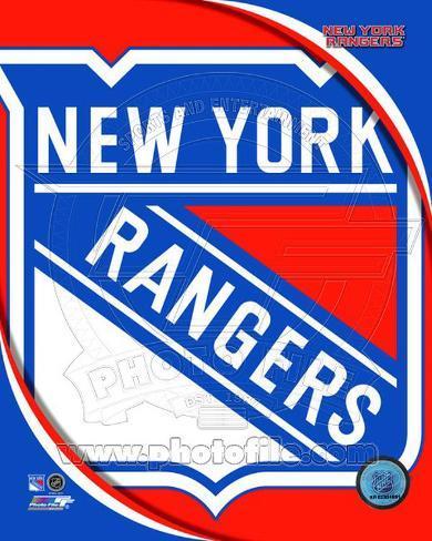 New York Rangers 2011 Team Logo Photo