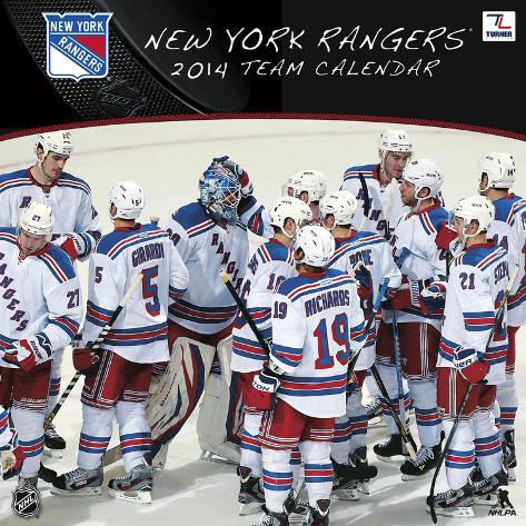 New York Rangers - 2014 Calendar Calendars