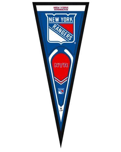 New York Rangers Pennant Framed Memorabilia
