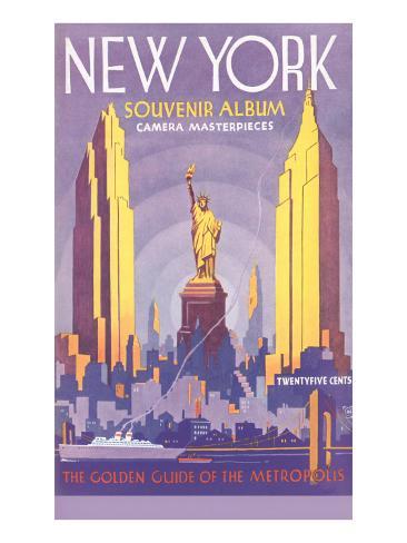 New York Souvenir Album Art Print