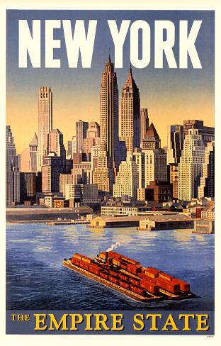 New York - The Empire State Masterprint