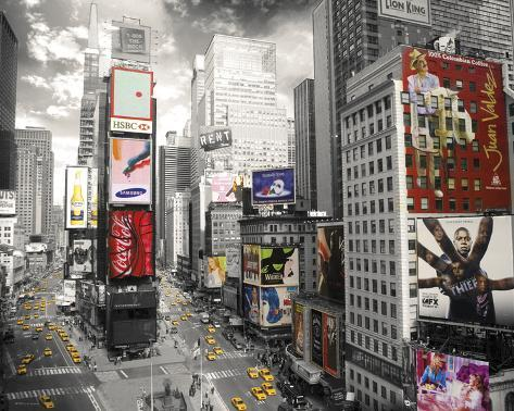 New York-Times Square 2 Mini Poster