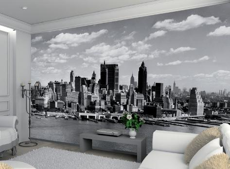 new york wallpaper mural wallpaper mural. Black Bedroom Furniture Sets. Home Design Ideas