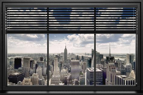 New York Window Blinds Posters Allposters Co Uk