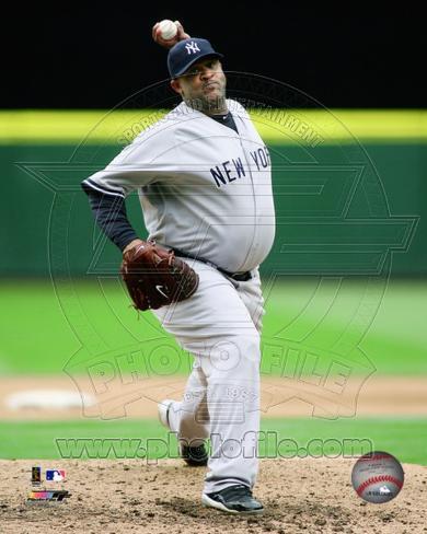 New York Yankees - CC Sabathia Photo Photo