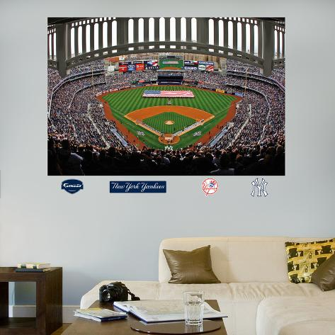 New York Yankees Flag Stadium Mural Wall Decal