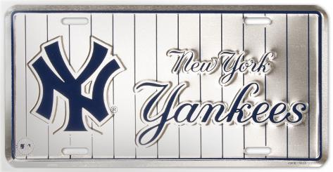 New Yorks Yankees Carteles metálicos