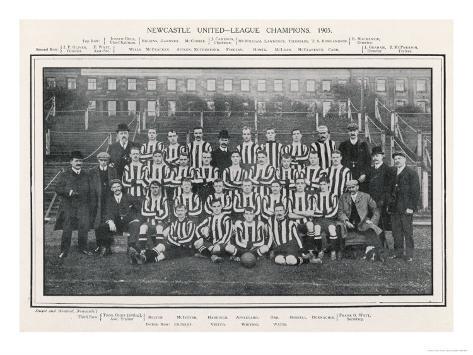 Newcastle United Giclee Print