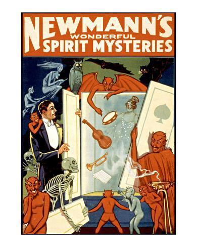 Newmann's Spirit Mysteries Giclee Print