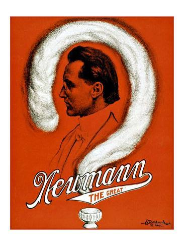Newmann the Great Magician Giclee Print