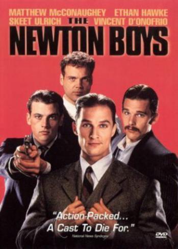Newton Boys (Matthew McCaughey, Ethan Hawke, Skeet Ulrich) Movie Poster Original Poster