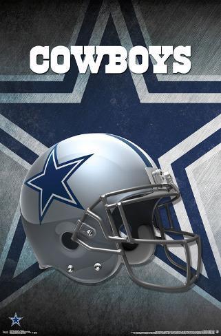 nfl dallas cowboys helmet logo prints at allposters com