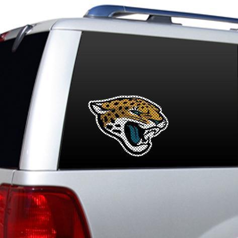 NFL Jacksonville Jaguars Diecut Window Film Stickers