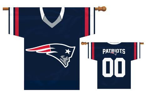 NFL New England Patriots 2-Sided Jersey Banner Flag