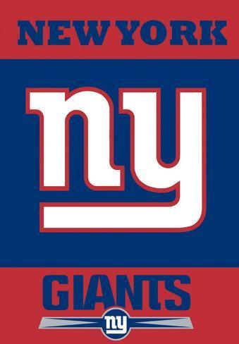 NFL New York Giants 2-Sided House Banner Flag