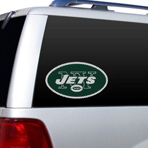 NFL New York Jets Diecut Window Film Window Decal