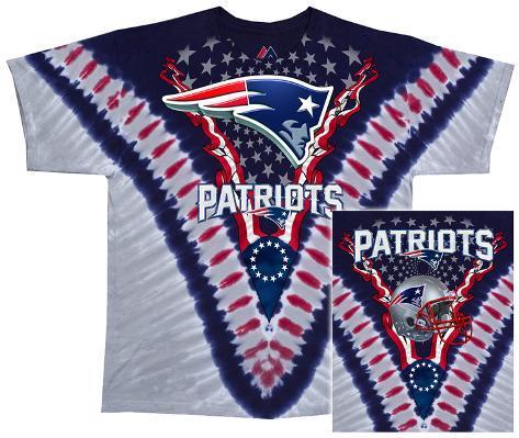 NFL: Patriots Logo V-Dye T-Shirt