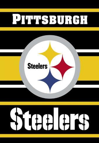 NFL Pittsburgh Steelers 2-Sided House Banner Flag