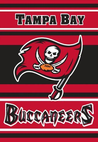 NFL Tampa Bay Bucaneers 2-Sided House Banner Flag