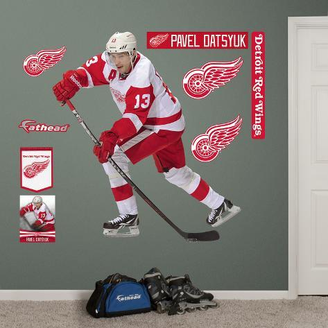 NHL Detroit Red Wings Pavel Datsyuk - No. 13 Wall Decal Sticker Wall Decal