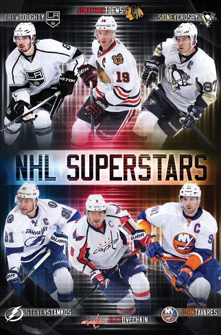 NHL Superstars Posters