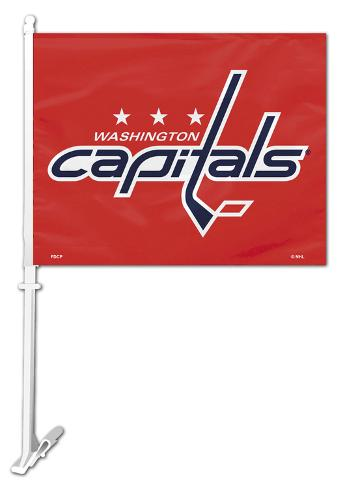 NHL Washington Capitals Car Flag Flag
