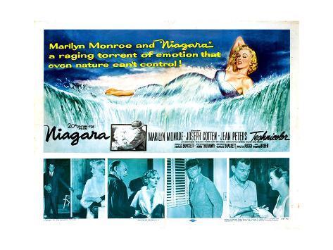 Niagara, Marilyn Monroe, 1953 Photo