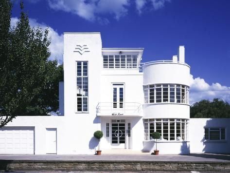 the white house front facade uk 1936 art deco architect evelyn