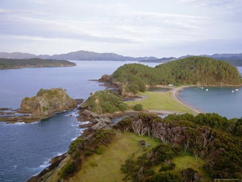 Bay of Islands, Northland, North Island, New Zealand Photographic Print