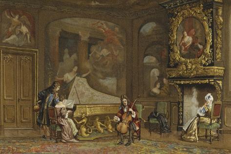 Interior of a Dutch House, C1680 Giclee Print
