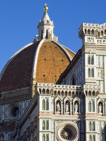 Duomo (Cathedral), Florence (Firenze), UNESCO World Heritage Site, Tuscany, Italy, Europe Photographic Print