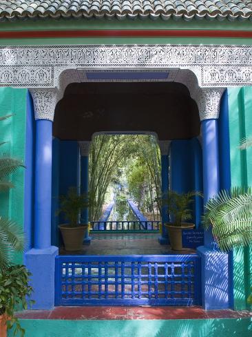 Jardin Majorelle, Marrakech, Morocco, North Africa, Africa Photographic Print