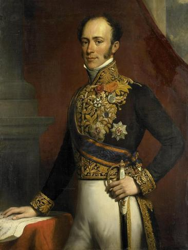 Portrait of Jan Jacob Rochussen, Governor-General of the Dutch East Indies Art Print