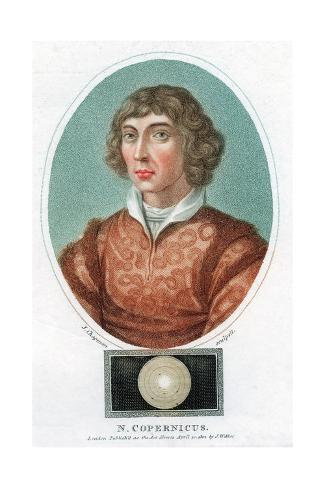 Nicolas Copernicus, Polish Astronomer, 1802 Giclee Print