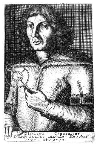 Nicolas Copernicus, Polish Astronomer and Mathematician Giclee Print