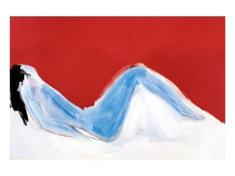 Reclining Nude Premium Giclee Print