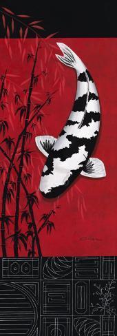 Premium Shiro Utsuri Art Print