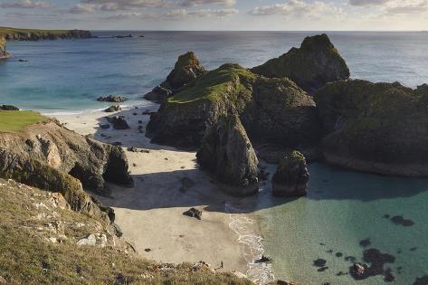 Kynance Cove, on the Lizard Peninsula, Near Helston, Cornwall Photographic Print