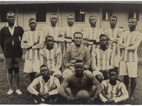 Nigeria's Football Team Photographic Print