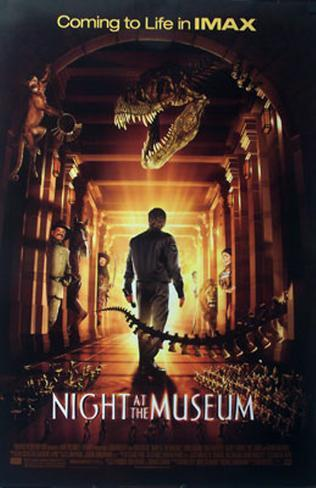 Night At The Museum Double-sided poster