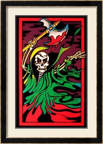Night of Terror Framed Art Print
