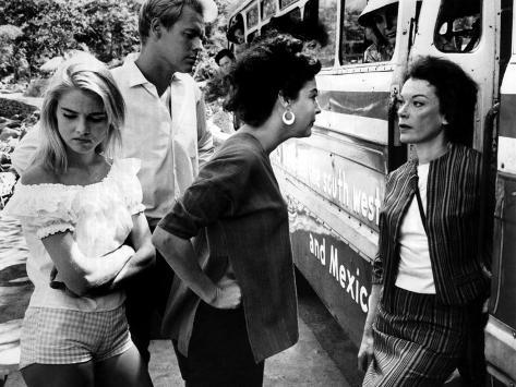 Night Of The Iguana, Sue Lyon, Ava Gardner, James Ward, Grayson Hall, 1964 Fotografia