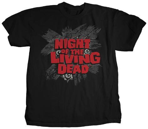 Night of the Living Dead - Eyes Logo T-shirt